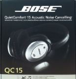 Bose Quietcomfort 15 Noise Cancelling Headphones QC15